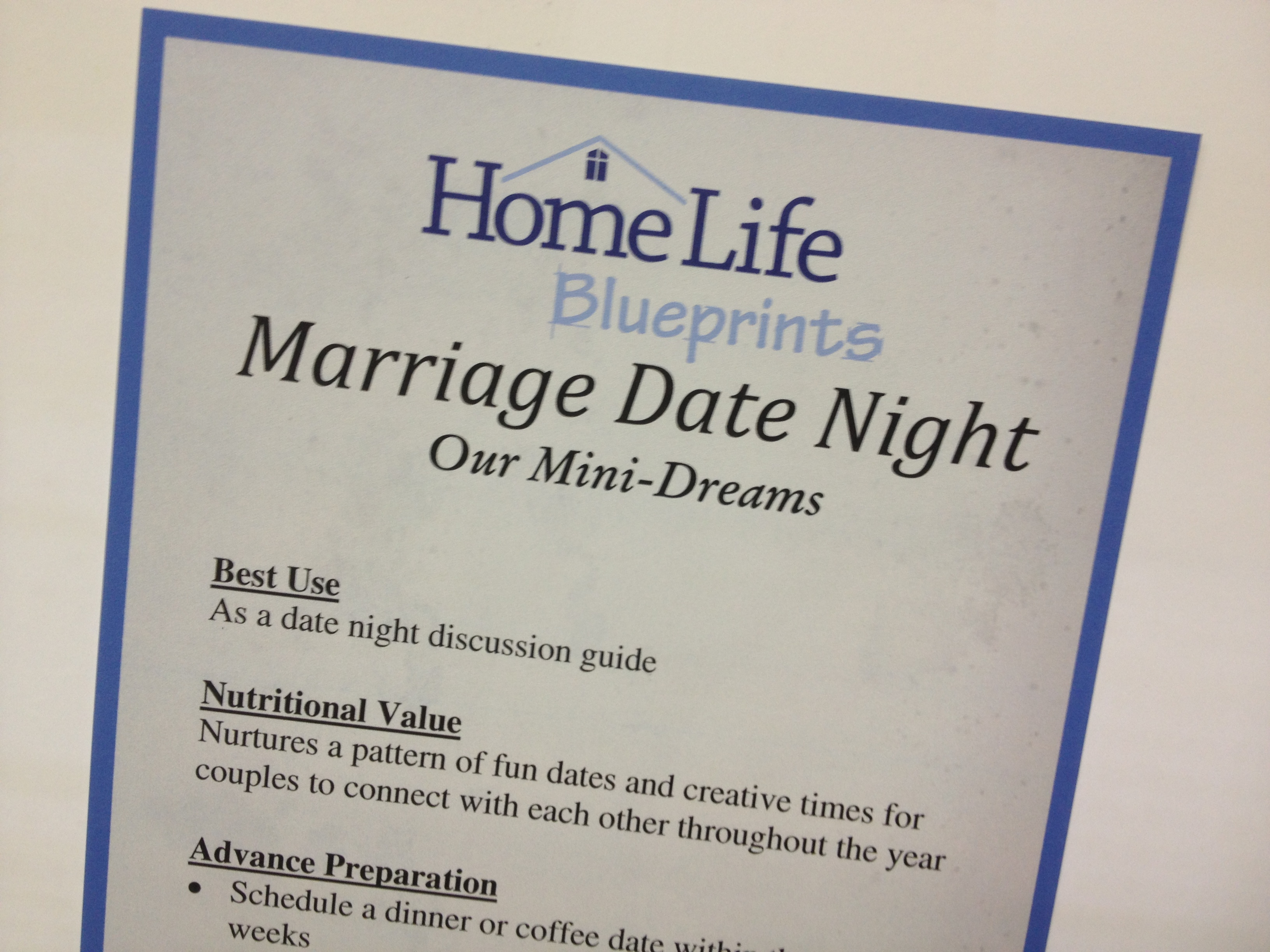 INFO for Families: Dating